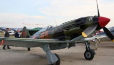 Russian old aircraft at Moscow Aviation Show
