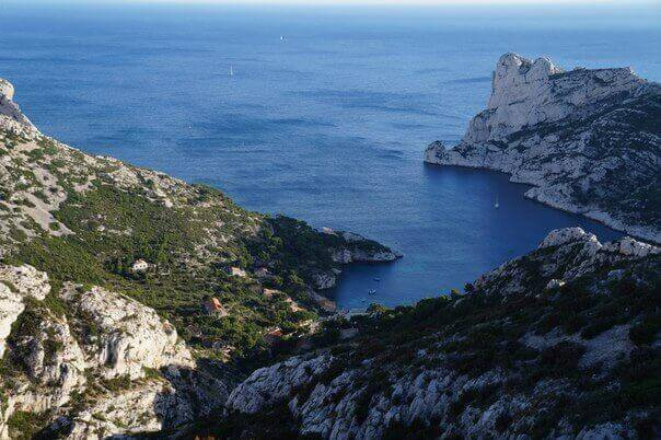 calanques reserve in France
