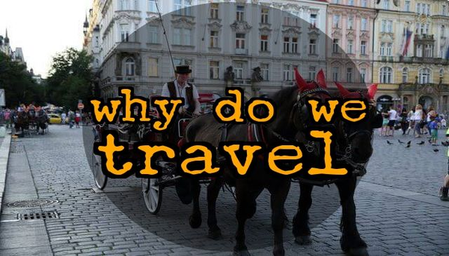 Why Do We Travel