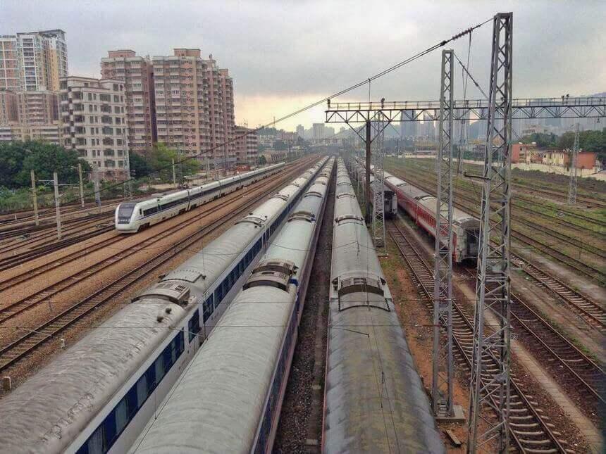 Shenzhen railway terminal