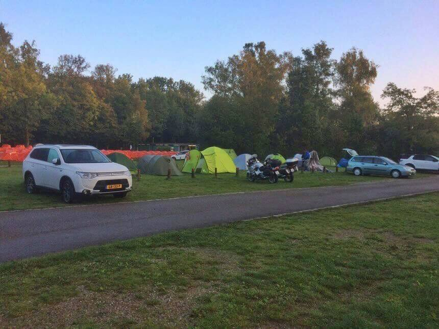 camping in Europe