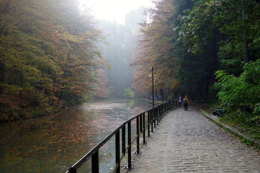 Autumn in Sächsische Schweiz