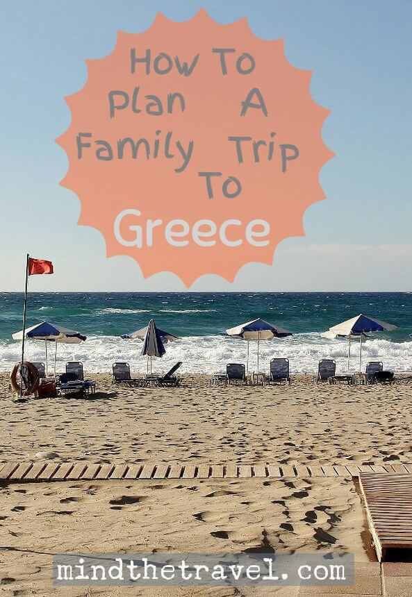 How To Plan A Family Trip To Greece