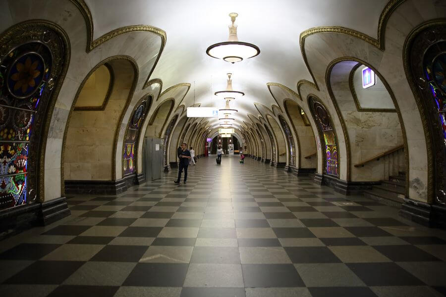 Moscow itinerary