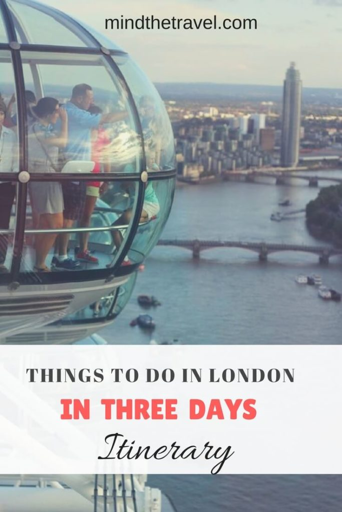 how to spend three days in London