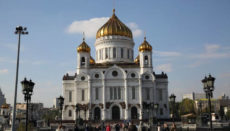 travel itinerary for one week in Moscow